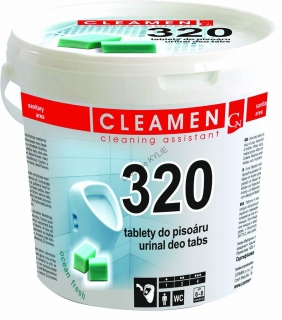 Tablety do pisoáru Cleamen 320 Deo 1,5 kg