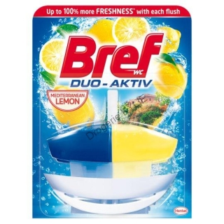 Bref WC gel Duo-Aktiv Lemon komplet 50ml